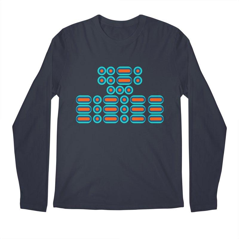 FFS!!! (orange/blue) Men's Regular Longsleeve T-Shirt by Felix Culpa Designs
