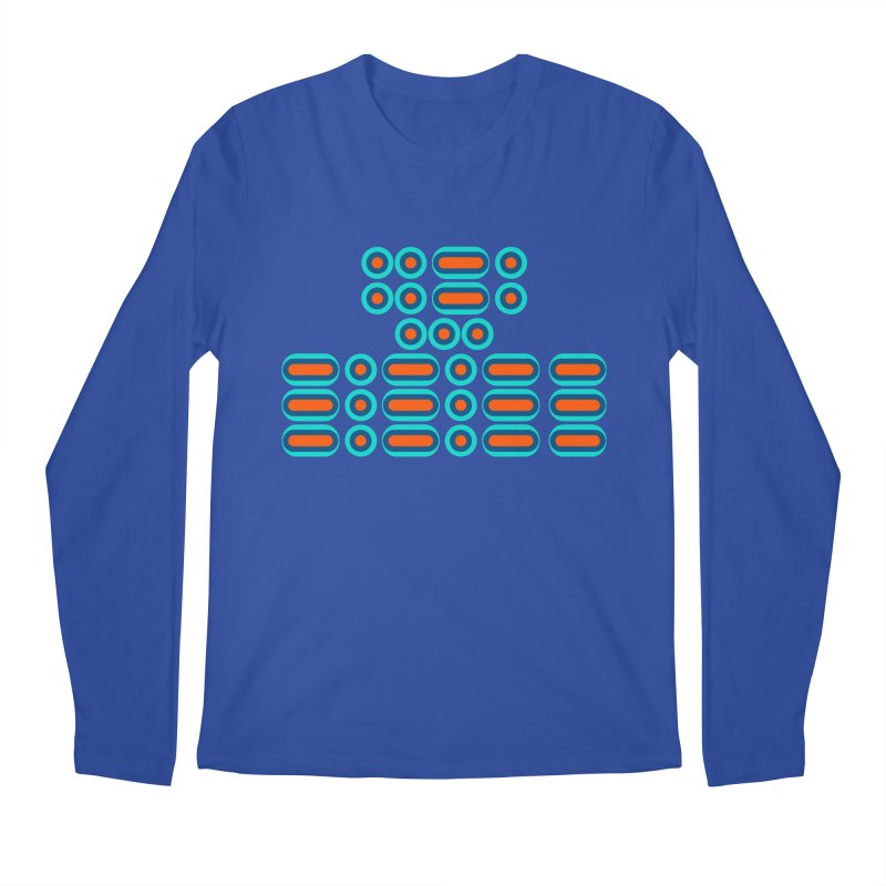 FFS!!! (orange/blue) Men's Regular Longsleeve T-Shirt by Felix Culpa Designs
