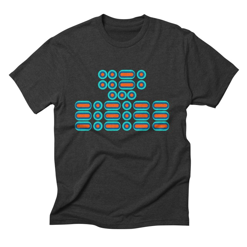 FFS!!! (orange/blue) Men's Triblend T-Shirt by Felix Culpa Designs