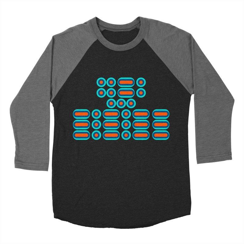 FFS!!! (orange/blue) Men's Baseball Triblend Longsleeve T-Shirt by Felix Culpa Designs