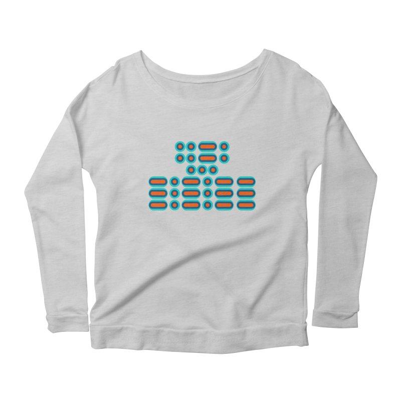 FFS!!! (orange/blue) Women's Scoop Neck Longsleeve T-Shirt by Felix Culpa Designs