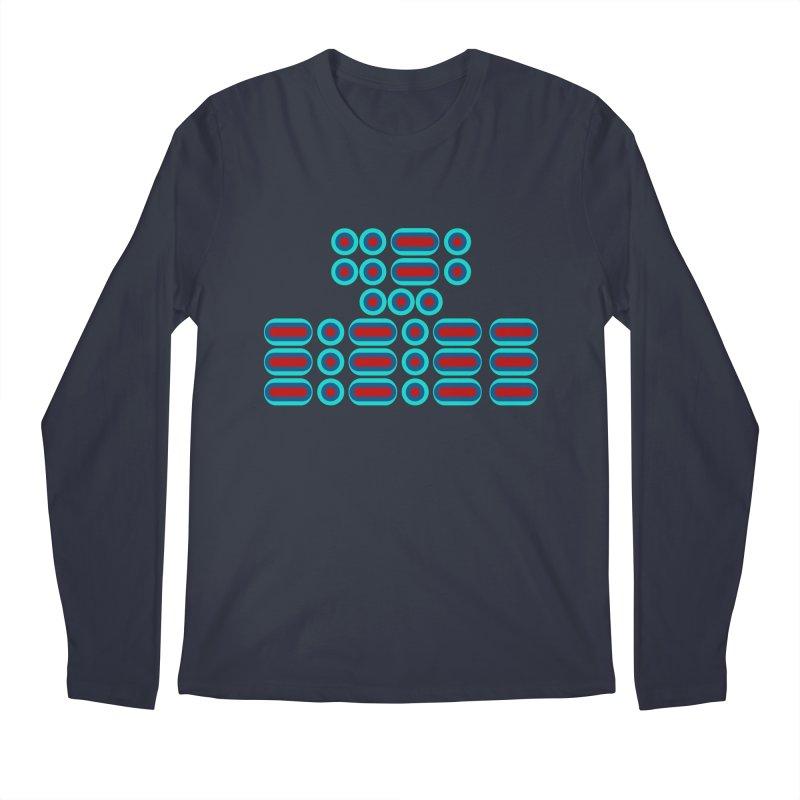 FFS!!! (red/blue) Men's Regular Longsleeve T-Shirt by Felix Culpa Designs