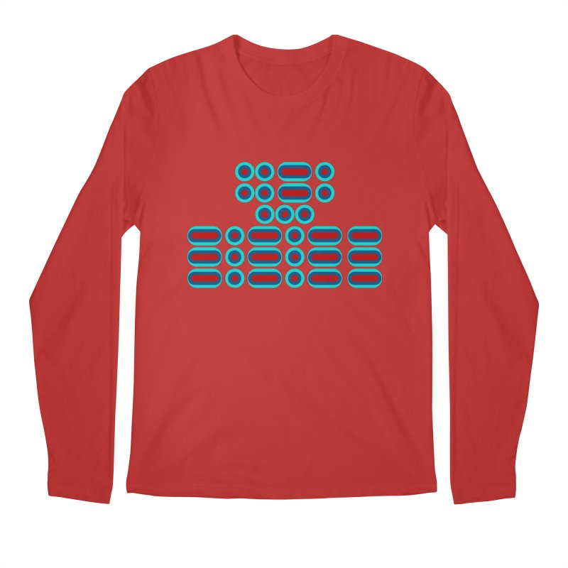 FFS!!! (red/blue) Men's Regular Longsleeve T-Shirt by Felix Culpa Designs