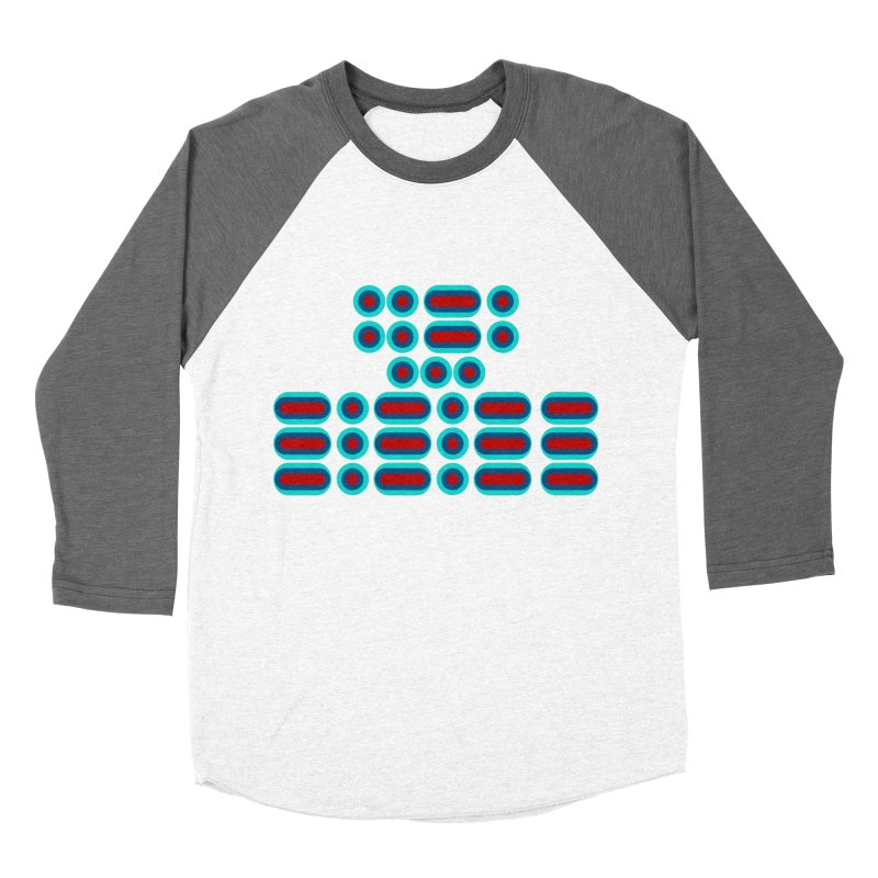 FFS!!! (red/blue) Men's Baseball Triblend Longsleeve T-Shirt by Felix Culpa Designs