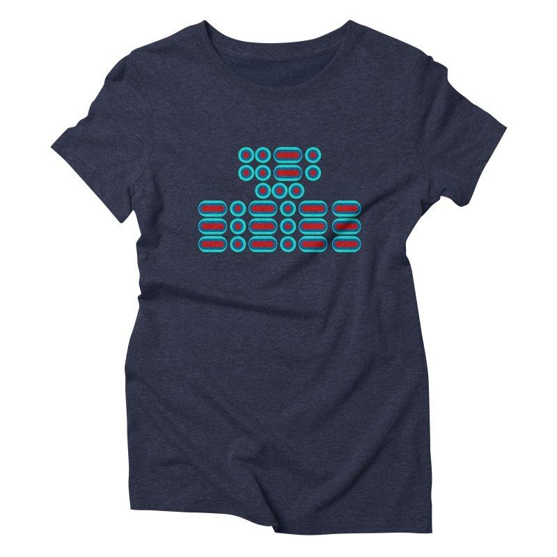 FFS!!! (red/blue) Women's Triblend T-Shirt by Felix Culpa Designs