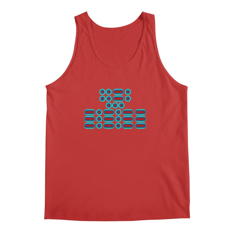 FFS!!! (red/blue) Men's Regular Tank by Felix Culpa Designs