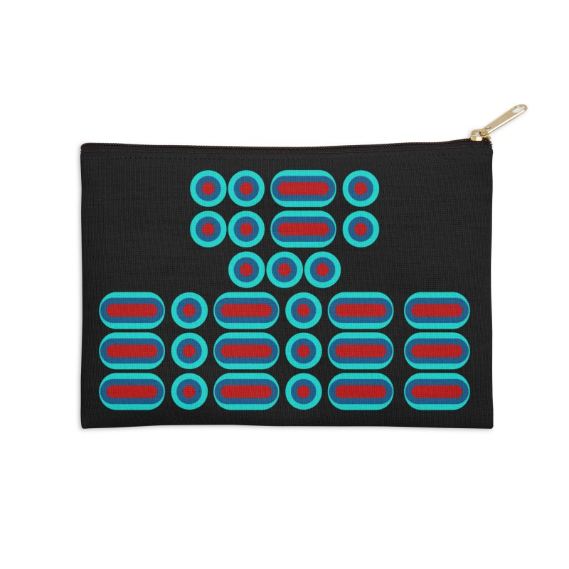 FFS!!! (red/blue) Accessories Zip Pouch by Felix Culpa Designs