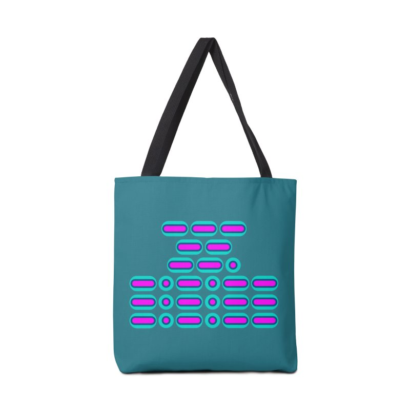 OMG!!! (pink/blue) Accessories Bag by Felix Culpa Designs