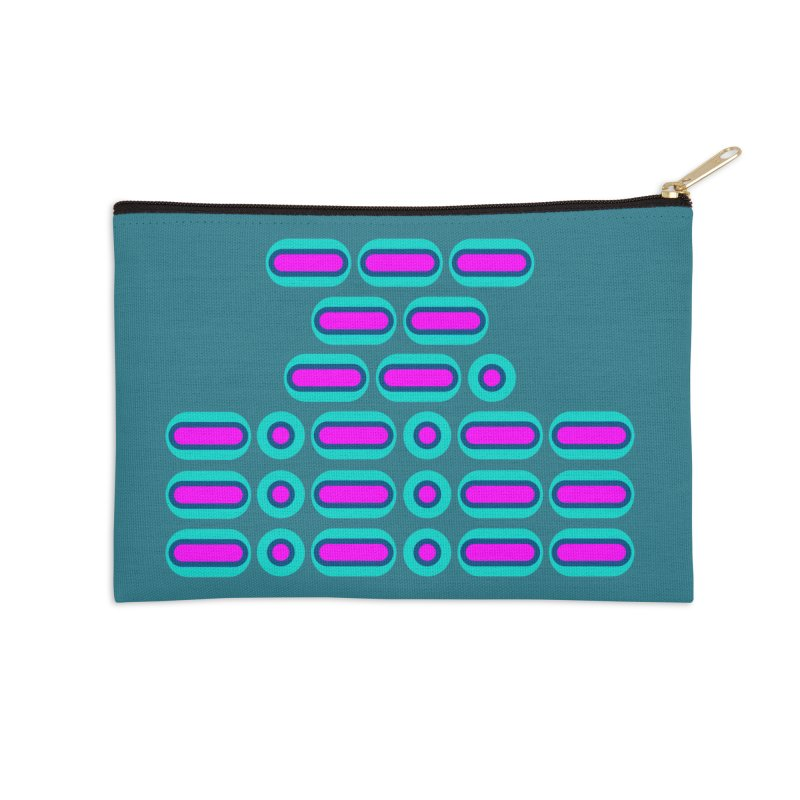 OMG!!! (pink/blue) Accessories Zip Pouch by Felix Culpa Designs