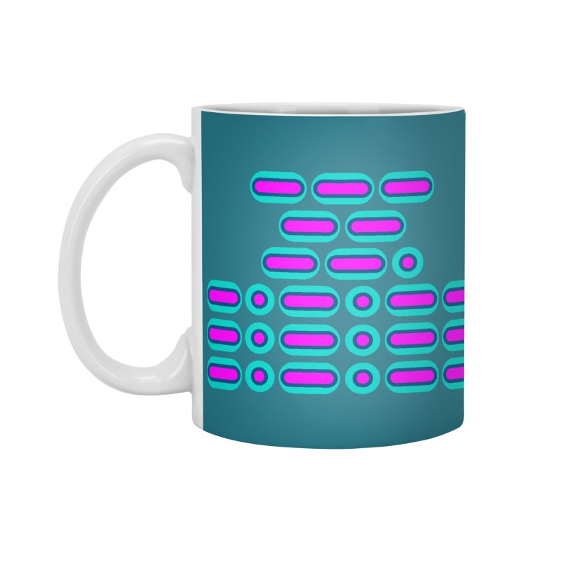 OMG!!! (pink/blue) Accessories Mug by Felix Culpa Designs