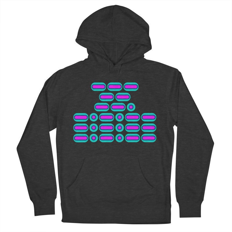 OMG!!! (pink/blue) Men's French Terry Pullover Hoody by Felix Culpa Designs
