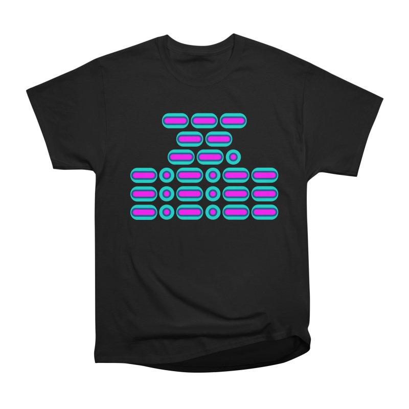 OMG!!! (pink/blue) Men's Heavyweight T-Shirt by Felix Culpa Designs