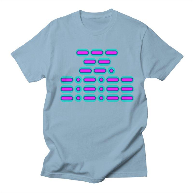 OMG!!! (pink/blue) Men's Regular T-Shirt by Felix Culpa Designs