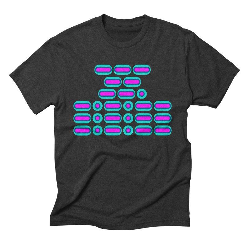 OMG!!! (pink/blue) Men's Triblend T-Shirt by Felix Culpa Designs