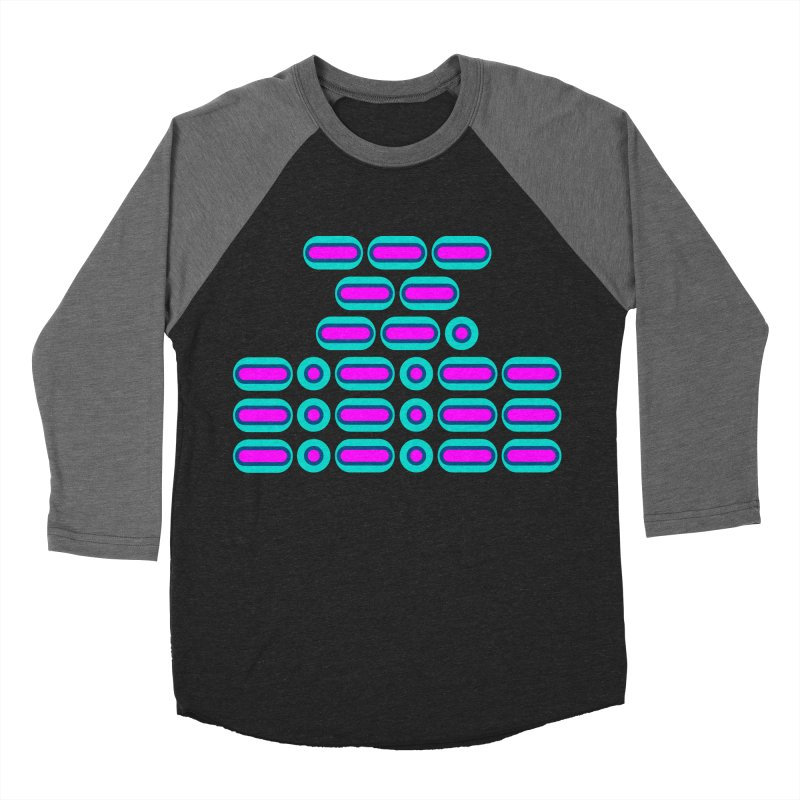 OMG!!! (pink/blue) Women's Baseball Triblend Longsleeve T-Shirt by Felix Culpa Designs