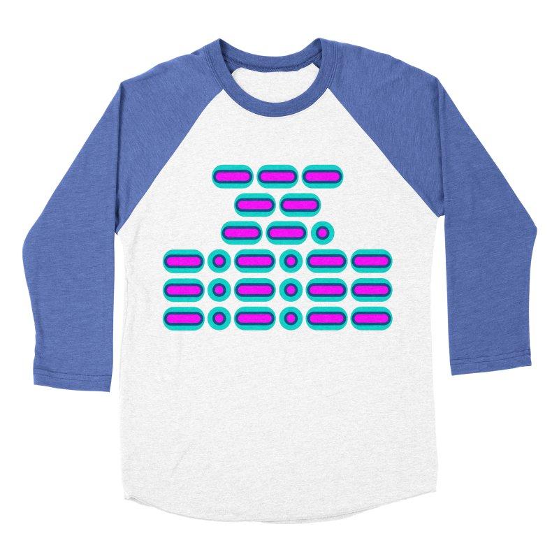OMG!!! (pink/blue) Men's Baseball Triblend Longsleeve T-Shirt by Felix Culpa Designs