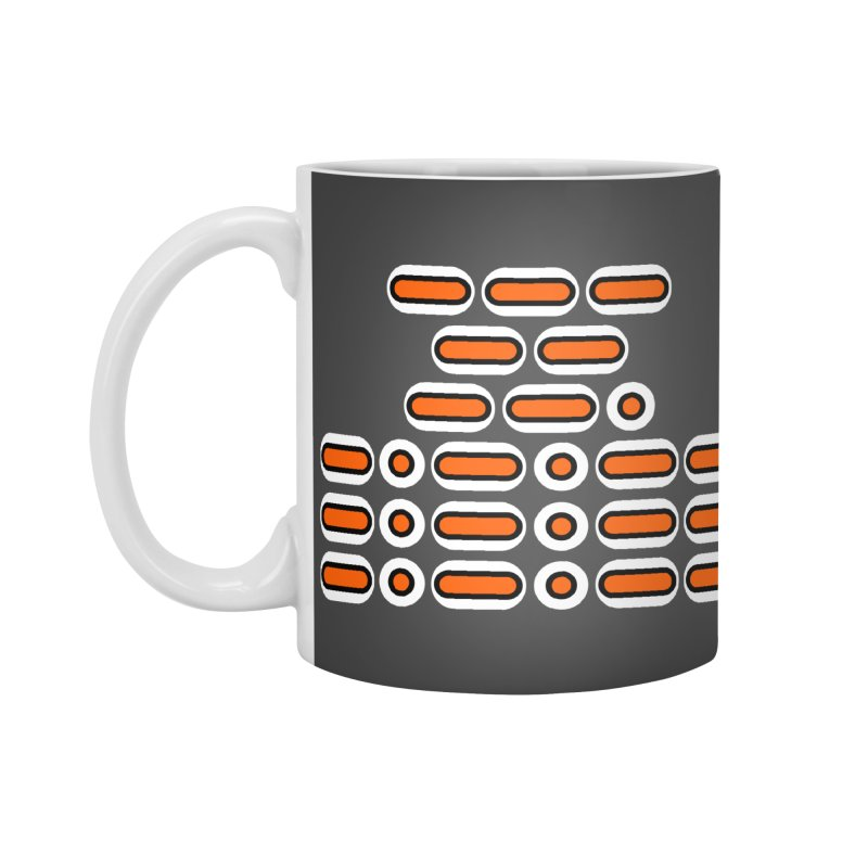 OMG!!! (orange/black/white) Accessories Standard Mug by Felix Culpa Designs