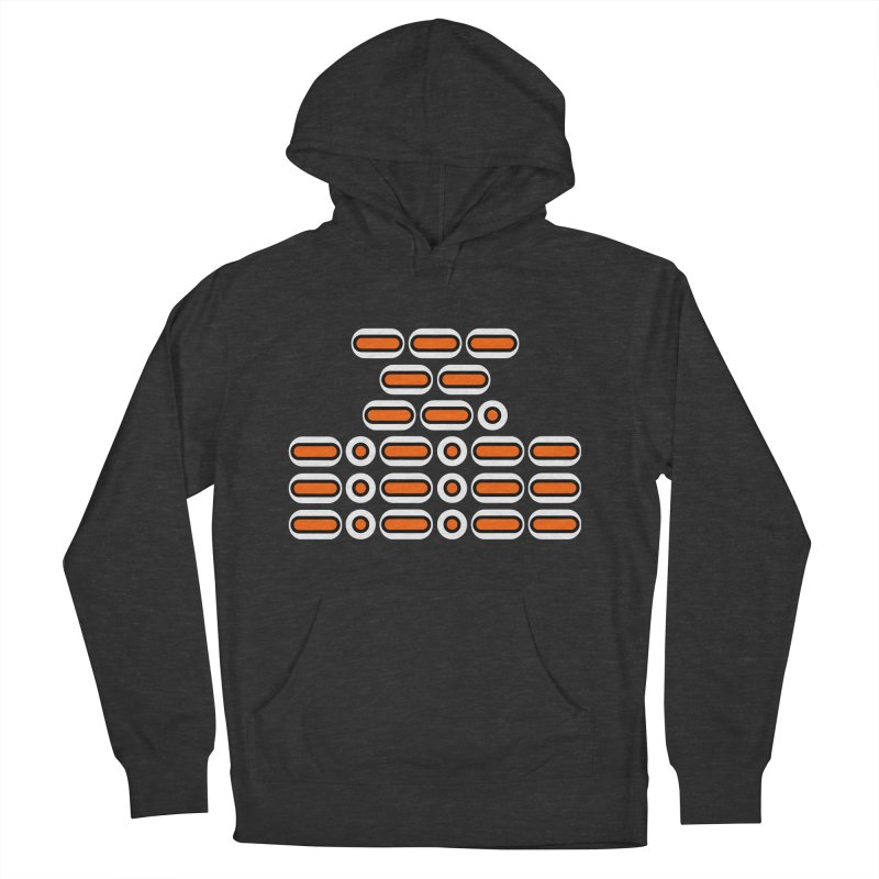 OMG!!! (orange/black/white) Men's French Terry Pullover Hoody by Felix Culpa Designs