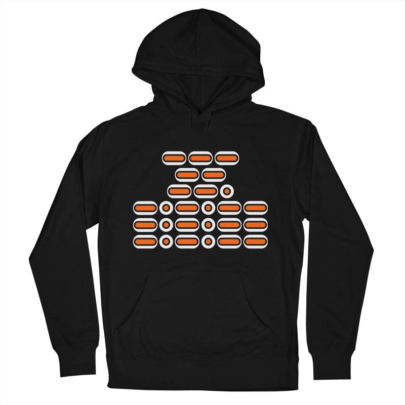 OMG!!! (orange/black/white) Men's French Terry Pullover Hoody by Felix Culpa Designs