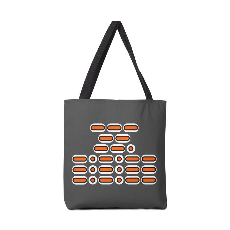 OMG!!! (orange/black/white) Accessories Bag by Felix Culpa Designs