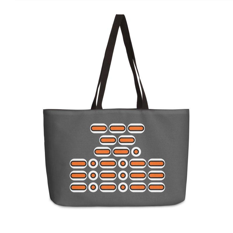 OMG!!! (orange/black/white) Accessories Weekender Bag Bag by Felix Culpa Designs