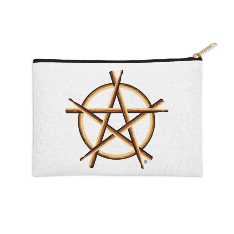 PAGAN DRUMMER Accessories Zip Pouch by Felix Culpa Designs