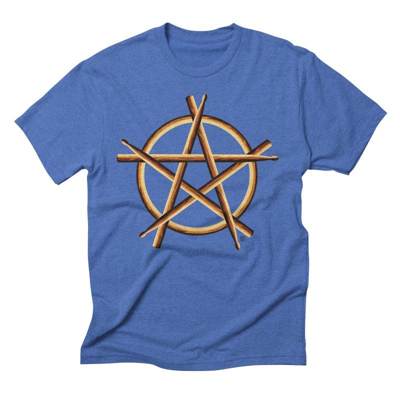 PAGAN DRUMMER Men's T-Shirt by Felix Culpa Designs
