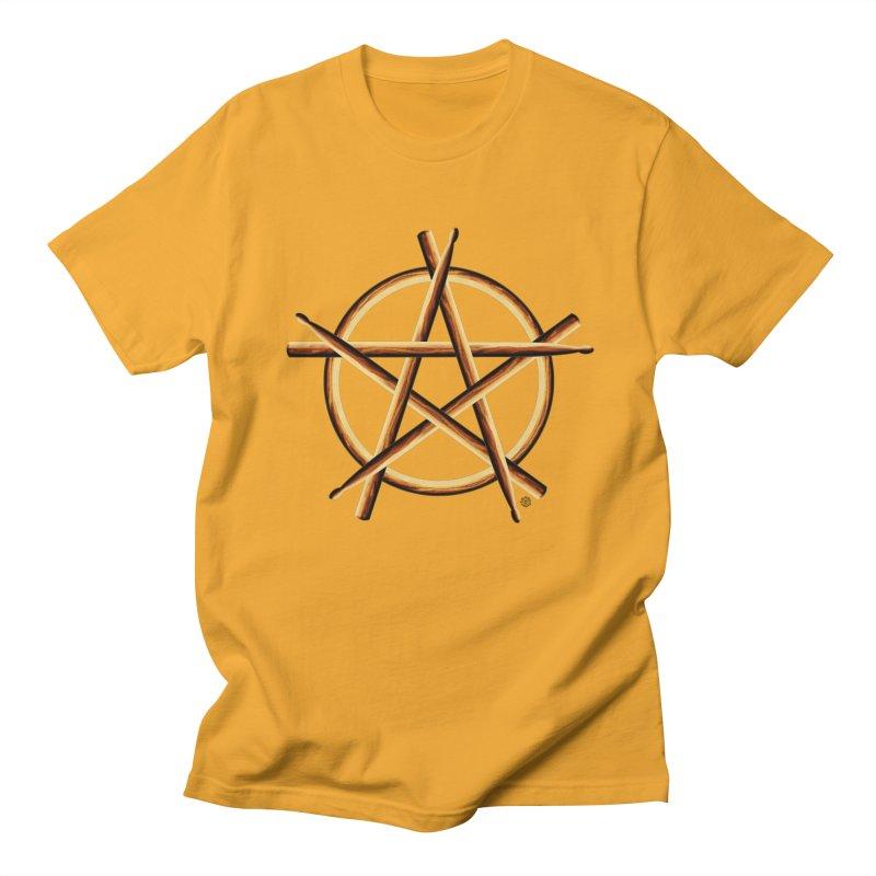 Pagan Drummer Women's Regular Unisex T-Shirt by Felix Culpa Designs