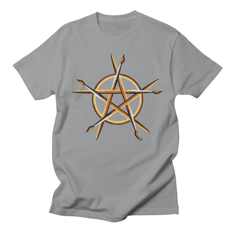 PAGAN PAINTER Women's Regular Unisex T-Shirt by Felix Culpa Designs