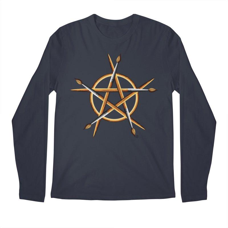 PAGAN PAINTER Men's Regular Longsleeve T-Shirt by Felix Culpa Designs