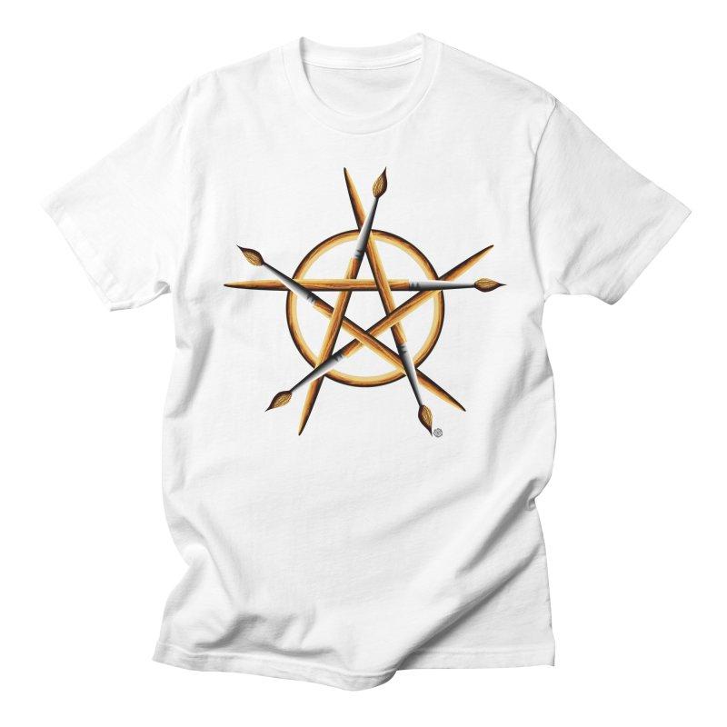 PAGAN PAINTER Women's Regular Unisex T-Shirt by Felix Culpa Designs