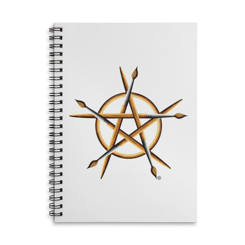 PAGAN PAINTER Accessories Lined Spiral Notebook by Felix Culpa Designs