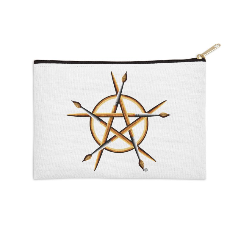 PAGAN PAINTER Accessories Zip Pouch by Felix Culpa Designs