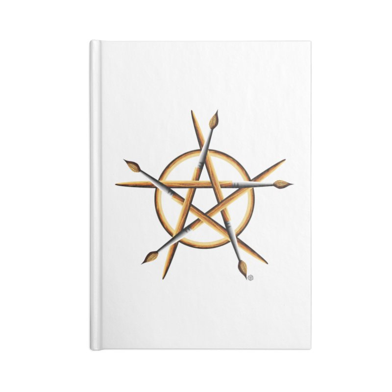 PAGAN PAINTER Accessories Lined Journal Notebook by Felix Culpa Designs