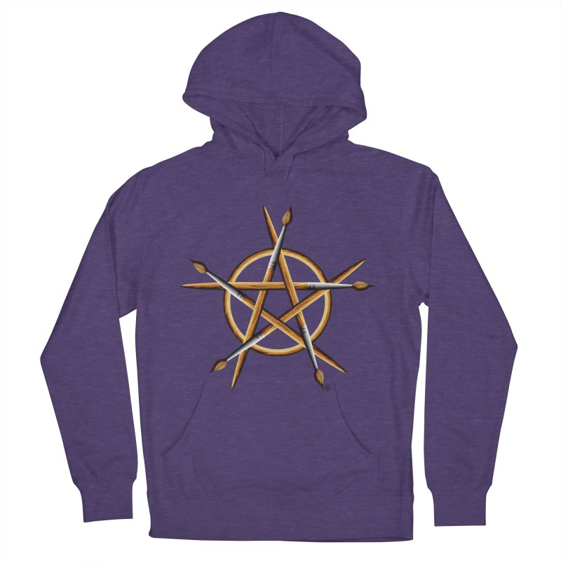 Pagan Painter Women's French Terry Pullover Hoody by Felix Culpa Designs