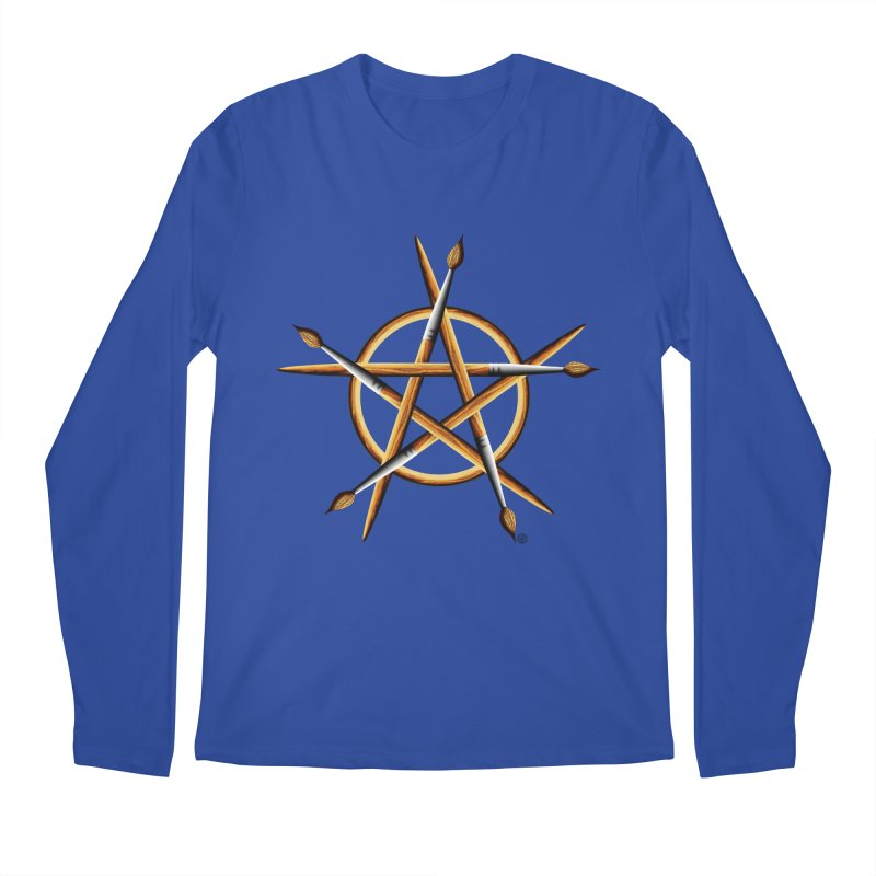 Pagan Painter Men's Regular Longsleeve T-Shirt by Felix Culpa Designs