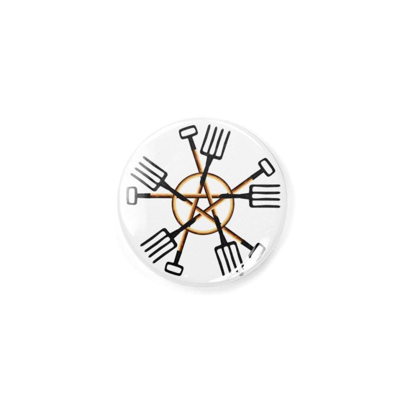Pagan Gardener Accessories Button by Felix Culpa Designs