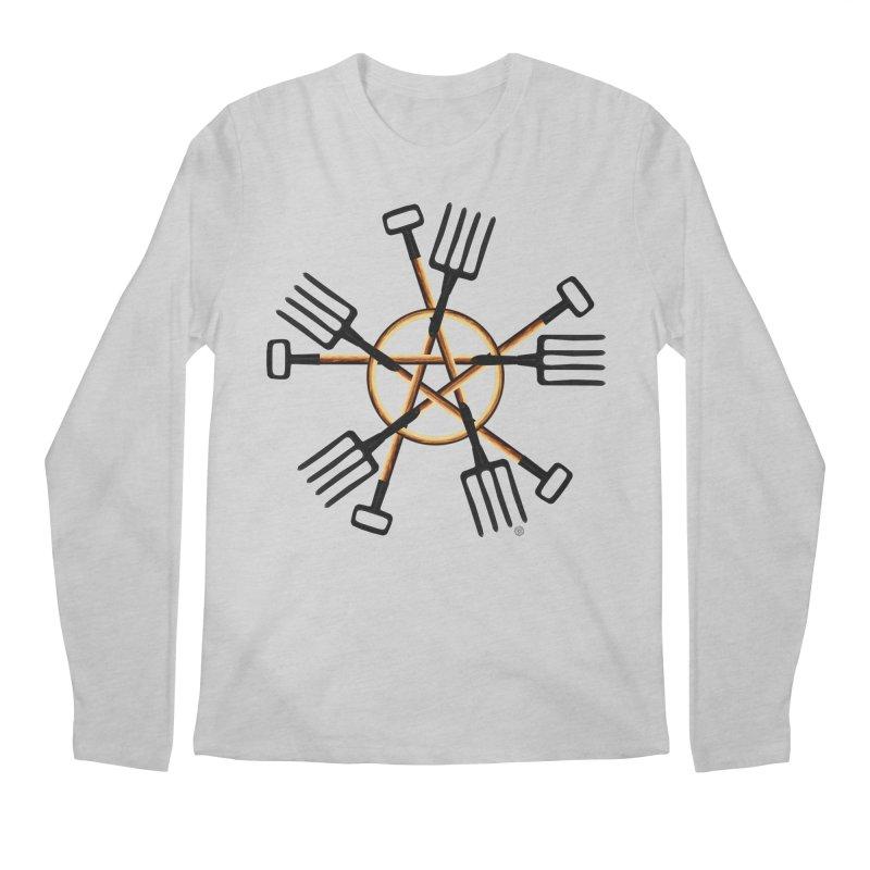 PAGAN GARDENER Men's Regular Longsleeve T-Shirt by Felix Culpa Designs