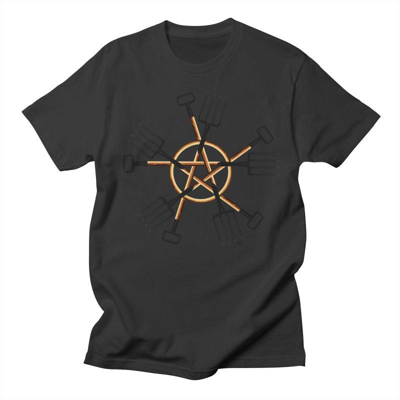 PAGAN GARDENER Men's Regular T-Shirt by Felix Culpa Designs