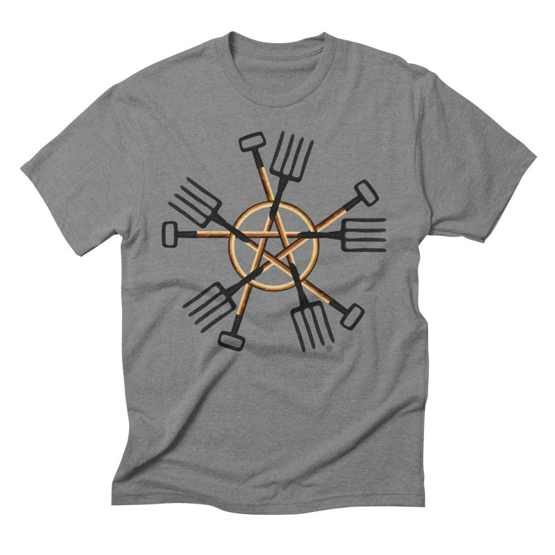 PAGAN GARDENER Men's Triblend T-Shirt by Felix Culpa Designs