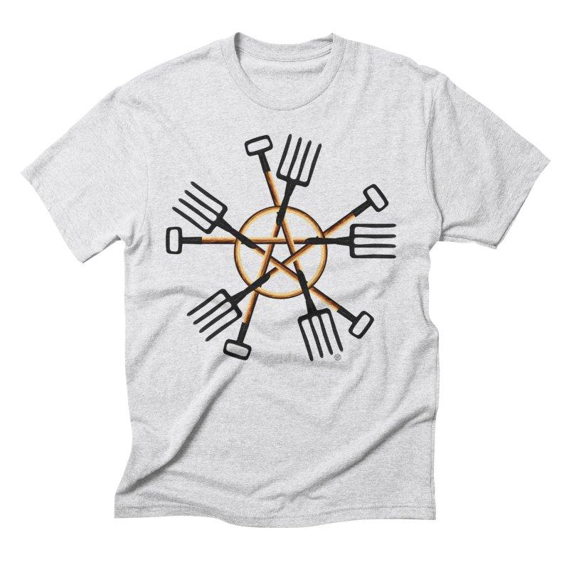 PAGAN GARDENER Men's Triblend T-Shirt by Felix Culpa Designs