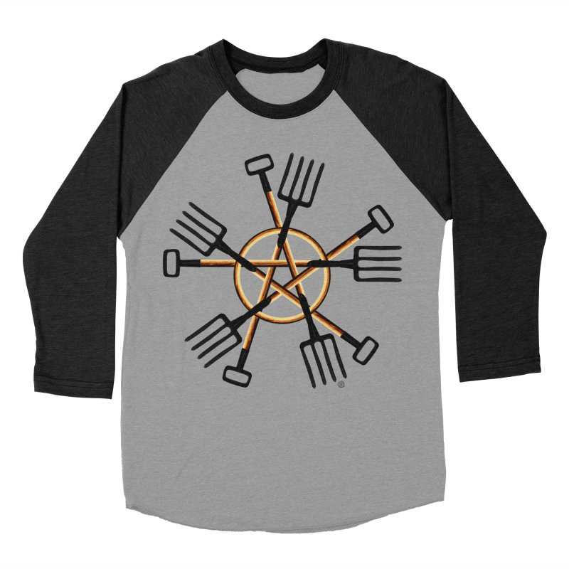 PAGAN GARDENER Men's Baseball Triblend Longsleeve T-Shirt by Felix Culpa Designs