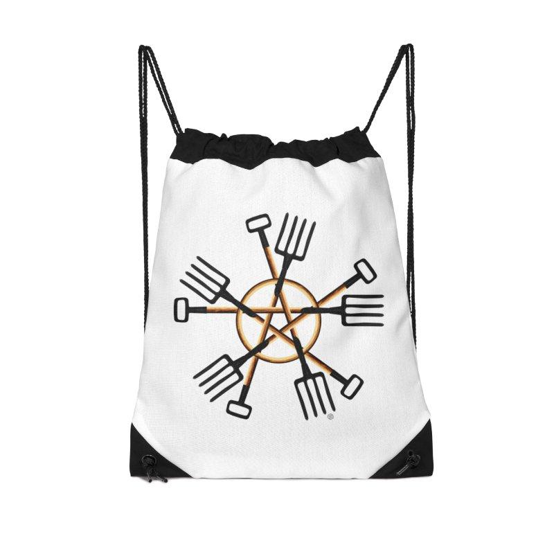 Pagan Gardener Accessories Drawstring Bag Bag by Felix Culpa Designs