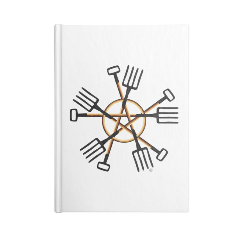 Pagan Gardener Accessories Blank Journal Notebook by Felix Culpa Designs