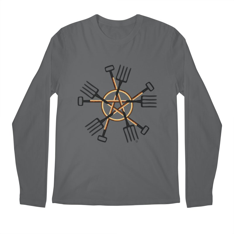 Pagan Gardener Men's Regular Longsleeve T-Shirt by Felix Culpa Designs