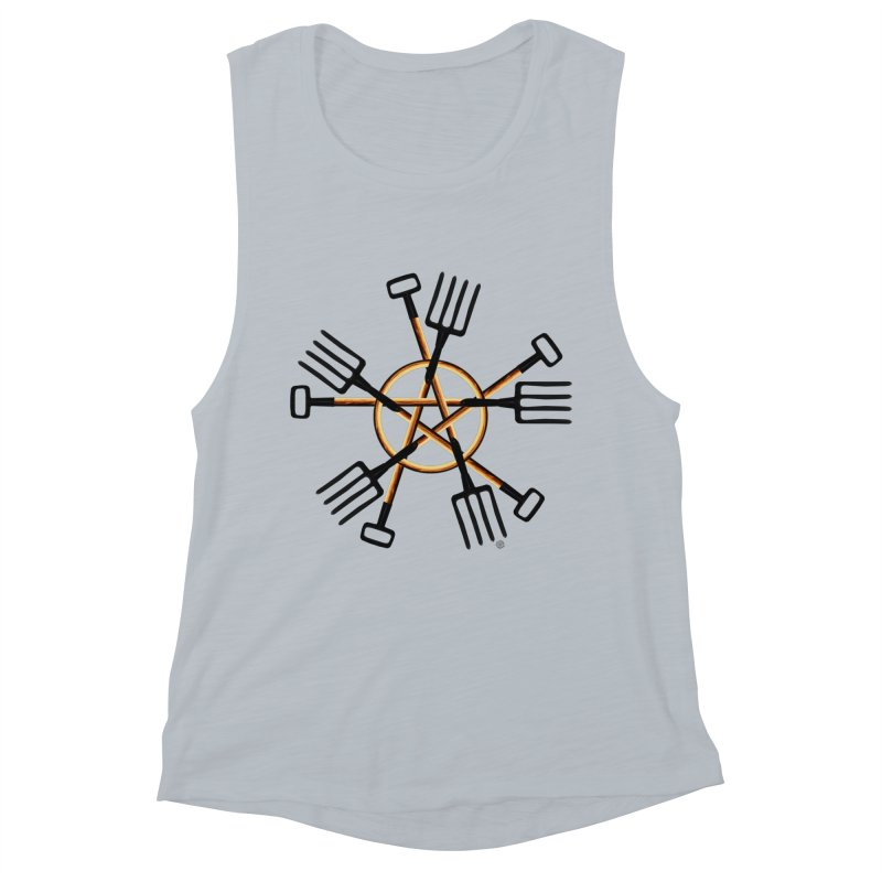 Pagan Gardener Women's Muscle Tank by Felix Culpa Designs