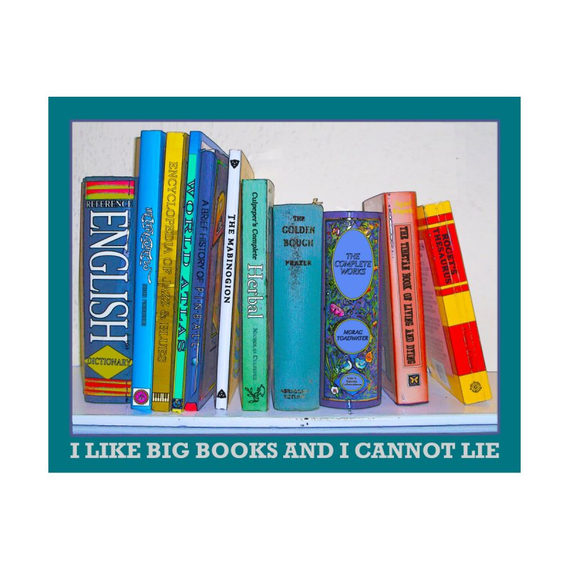 I LIKE BIG BOOKS... Home Throw Pillow by Felix Culpa Designs