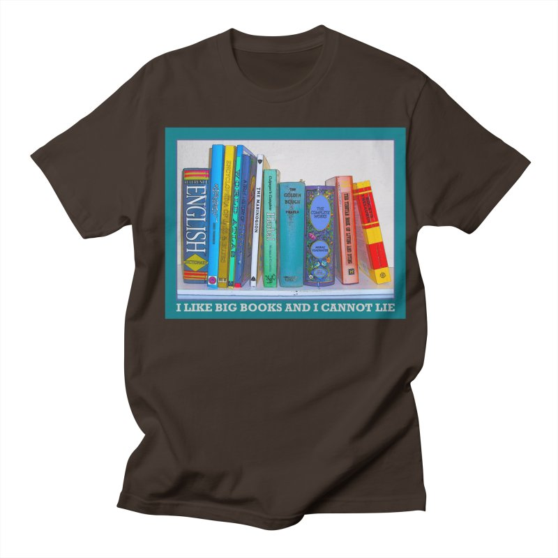 I LIKE BIG BOOKS... Men's Regular T-Shirt by Felix Culpa Designs
