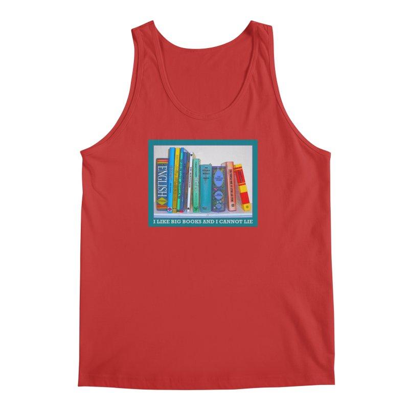 I LIKE BIG BOOKS... Men's Regular Tank by Felix Culpa Designs