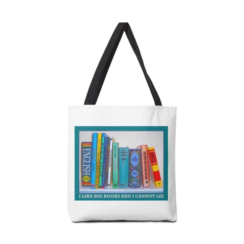 I LIKE BIG BOOKS... Accessories Bag by Felix Culpa Designs